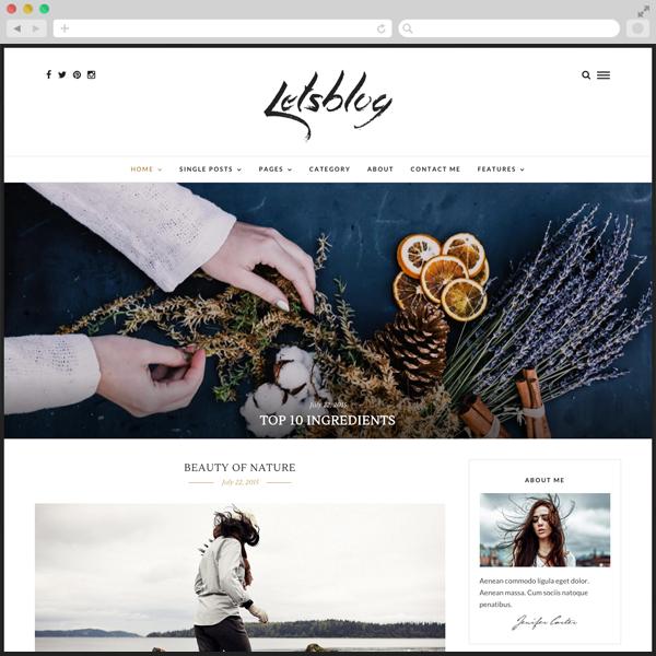 Lets Blog